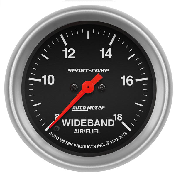 2-5/8 in. WIDEBAND AIR/FUEL RATIO ANALOG 8:1-18:1 AFR SPORT-COMP