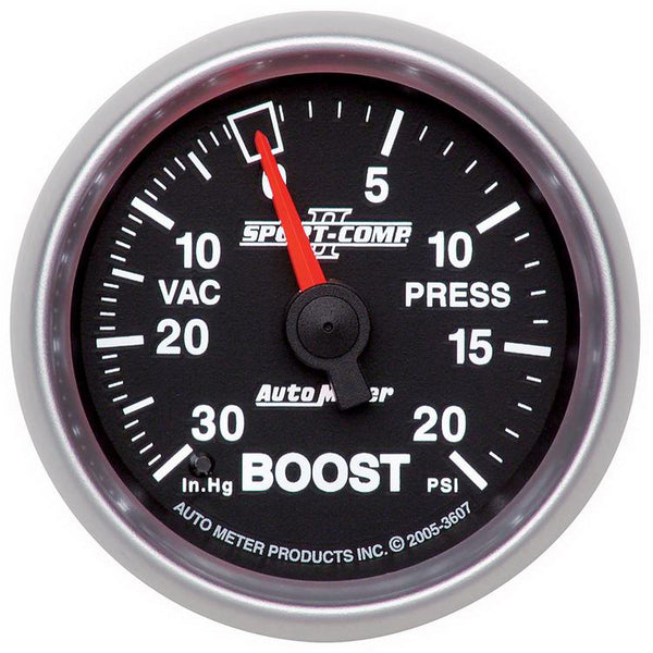 2-1/16 in. BOOST/VACUUM 30 IN HG/20 PSI SPORT-COMP II