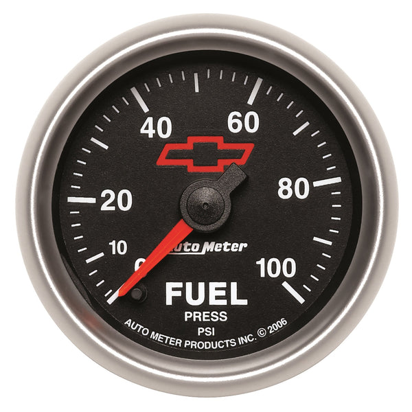 2-1/16 in. FUEL PRESSURE 0-100 PSI GM BLACK