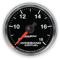 2-1/16 in. WIDEBAND AIR/FUEL RATIO ANALOG 8:1-18:1 AFR GS