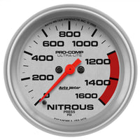 2-5/8 in. NITROUS PRESSURE 0-1600 PSI ULTRA-LITE