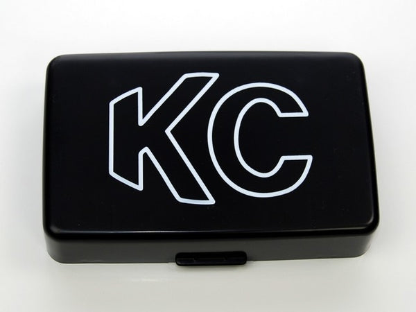 "5"" x 7"" Plastic Cover - KC #5309 (Black with White Outline KC Logo)"