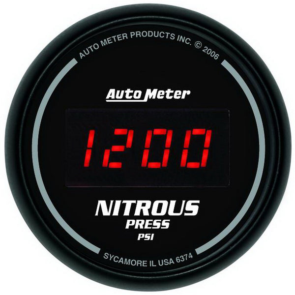 2-1/16 in. NITROUS PRESSURE 0-1600 PSI SPORT-COMP DIGITAL