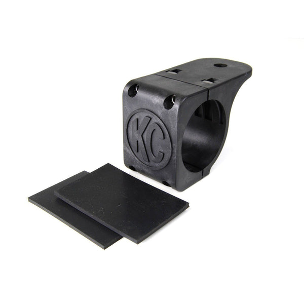 "Bracket - Single - Tube Clamp Light Mount - Rubber Adjustment Shims - 2.25"" - 2.5"""