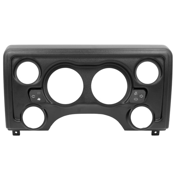 DIRECT FIT DASH PANEL 6 GAUGE (3 3/8 in. X2 2 1/6 in. X4) JEEP TJ / XJ