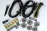 Cyclone LED Rock Light Kit Jeep JK/JL 6 PC Clear – #91025