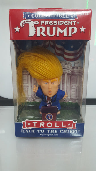 PRESIDENT TRUMP TROLL  COLLECTIBLE DOLL