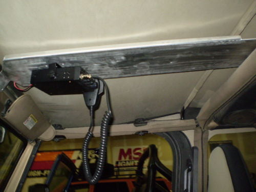 Pavement Optional Jeep TJ Wrangler Overhead CB Radio / Ham Radio Mount.