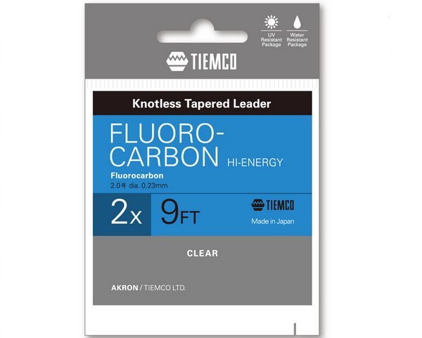 TMC FLUORO-CARBON LEADER 9FT