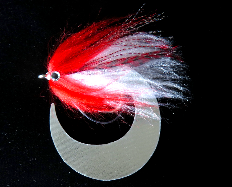 Baitfish Wiggle Tail Red