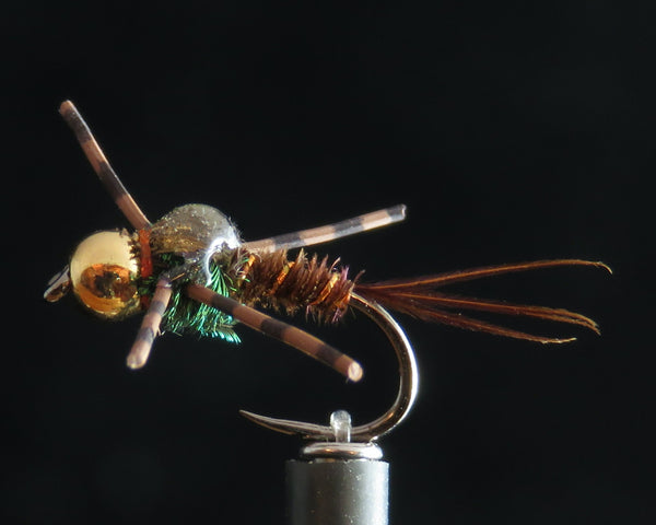 Pheasant Tail Rubber Legs