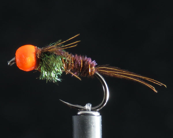 Pheasant Tail Orange Head