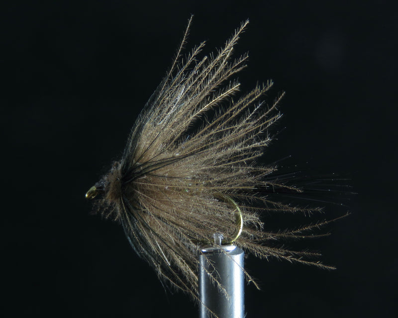 May Fly quill cdc olive