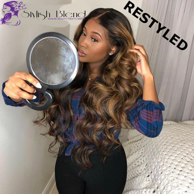 Lace Front Human Hair Wigs Colored Human Hair Lace Front Wig 13x6 13x4 Remy 180 Straight Lace Front Wig