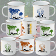 Enamel Mug 11oz - Fireside Design