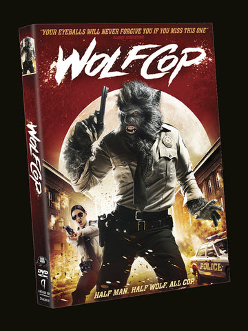 WolfCop DVD (Region 1) - Signed