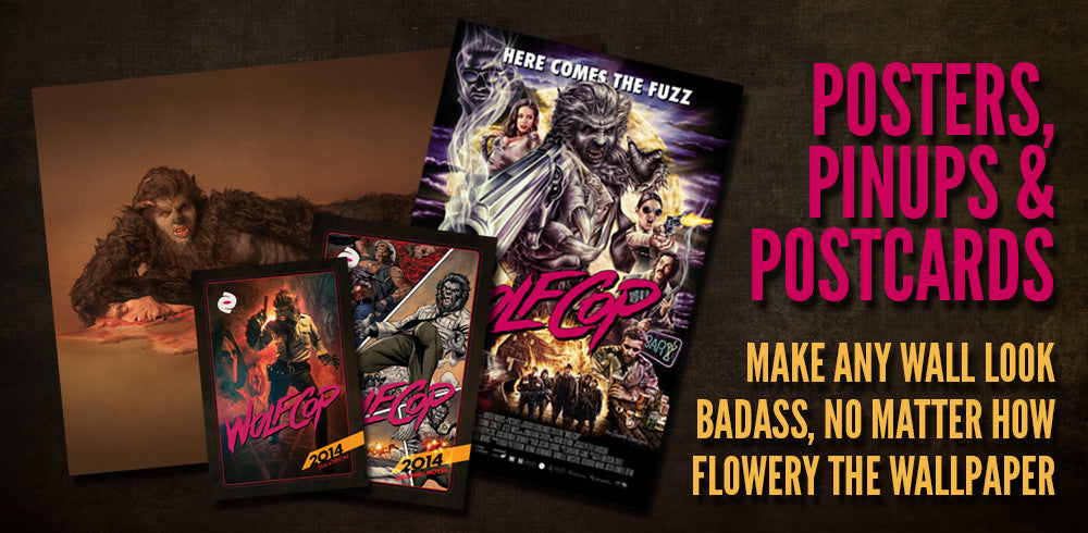 WolfCop Posters