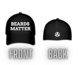 Beards Matter Flexfit Baseball Cap (Front & Back Design)