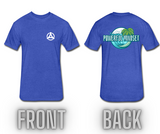 Powerful Mindset Summer Tee (Front & Back Design)