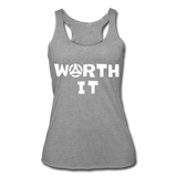 Worth It Women's Tank - heather gray