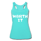 Worth It Women's Tank - turquoise