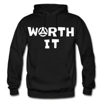 Worth It Hoodie - black