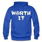 Worth It Hoodie - royal blue