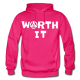 Worth It Hoodie - fuchsia