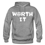 Worth It Hoodie - graphite heather