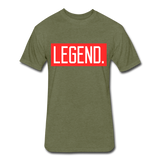 Legend Tee - heather military green