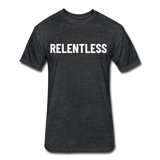 Relentless Tee - heather black