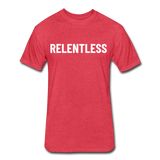 Relentless Tee - heather red
