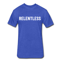 Relentless Tee - heather royal