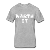 Worth It Tee - heather gray