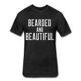 Bearded & Beautiful Tee - black