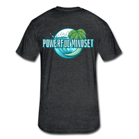 Powerful Mindset Summer Tee - heather black