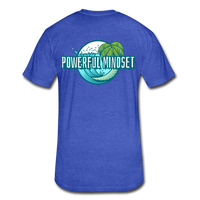 Powerful Mindset Summer Tee - heather royal