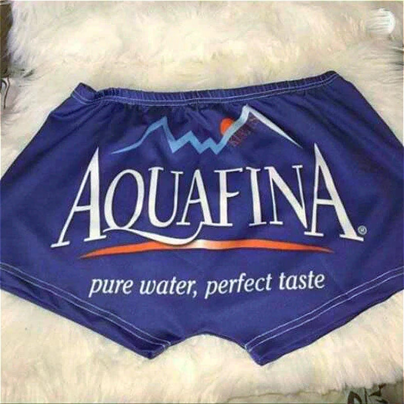 Aquafina Printed Shorts