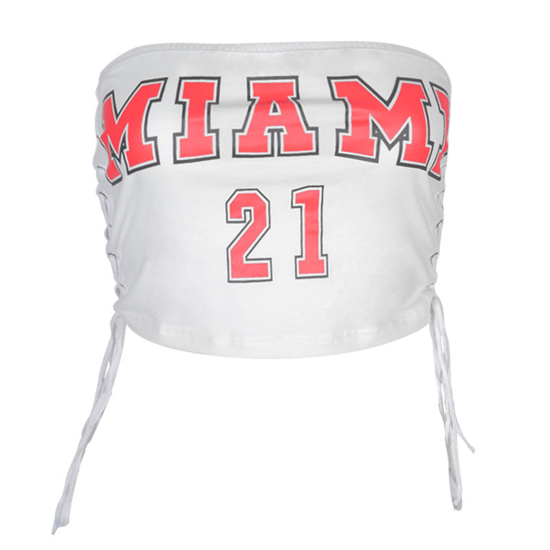 Miami 21 Bandage Tank Top