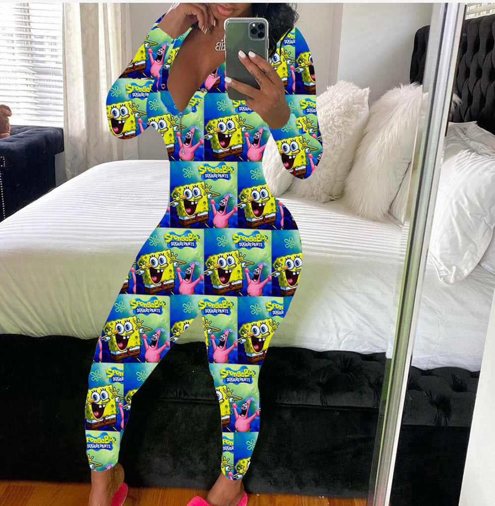 SpongeBob Long Onesie