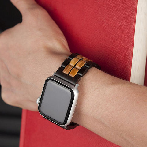 wooden bands for Apple Watch is our mainstay products. It is handmade with 100% natural wood.