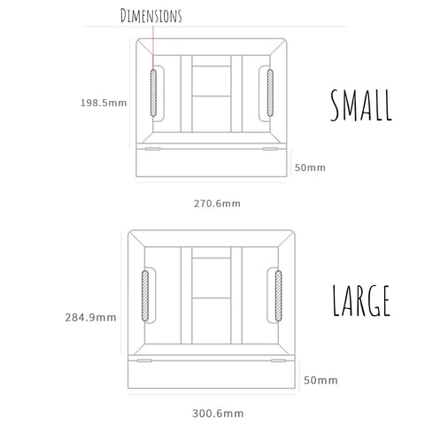 dimensions of adjustable tablet stand with wrist rest