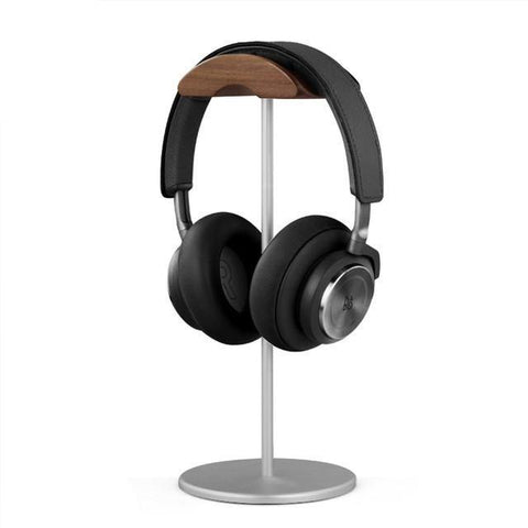 Wood Headphone Holder Stand 🌳 Natural Wood. ♻️ Eco-friendly. ✈️ Free Worldwide Shipping. 🎁 Perfect Gift.