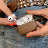 Slim Wooden Case for AirPods Pro 🌳 Natural Wood. ♻️ Eco-friendly. ✈️ Free Worldwide Shipping. 🎁 Perfect Gift.