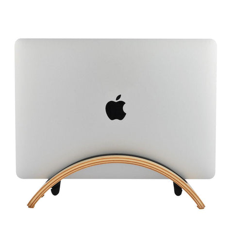 Wooden Stand for MacBook 🌳 Natural Wood. ♻️ Eco-friendly. ✈️ Free Worldwide Shipping. 🎁 Perfect Gift.