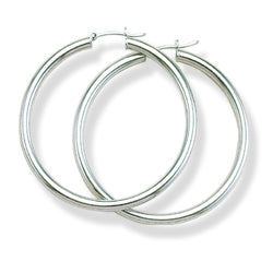 Everyday Hoops - Sterling Silver