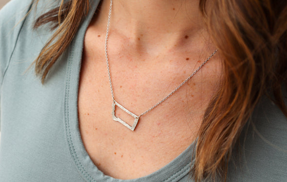 Montana Outline Necklace