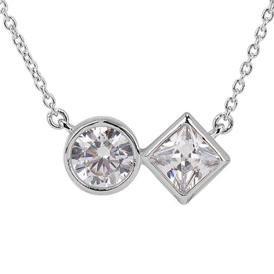 Mixed CZ Necklace