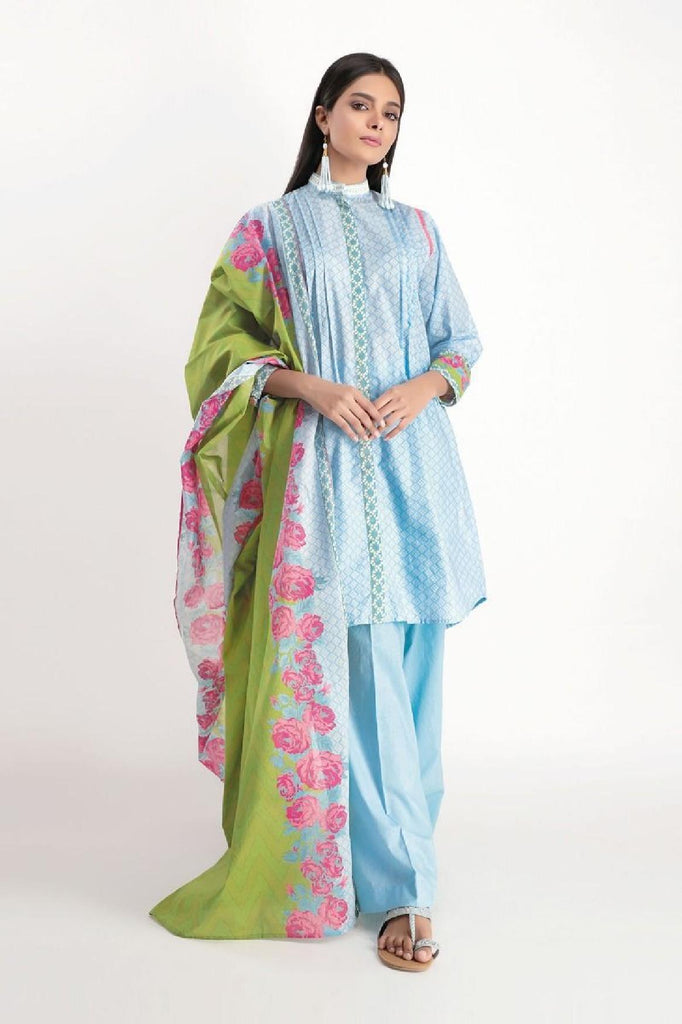 Khaadi - Printed 2PC Suit (KD-19002)