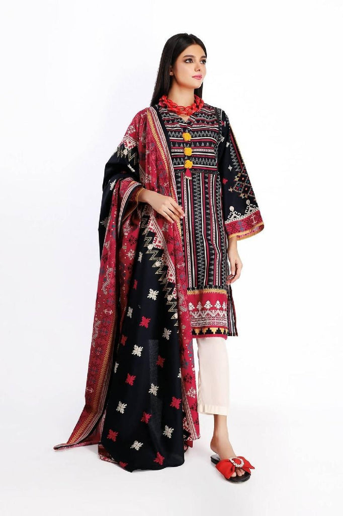 Khaadi - Printed 2PC Suit (KD-19007)
